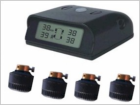 Rally Car Tire Pressure Monitor