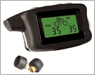 Tire Pressure monitor for mountain Bicycle